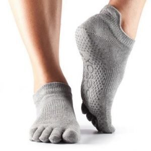 ToeSox-varvassukka Low rise Heather Grey