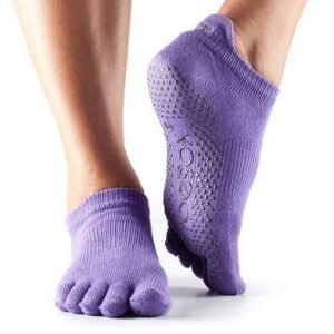 ToeSox-varvassukka Low rise Light Purple