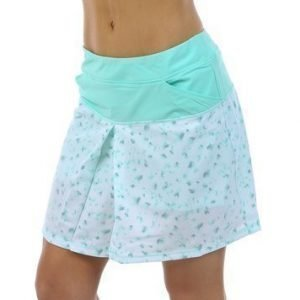 Tour mixed-print pull on skort