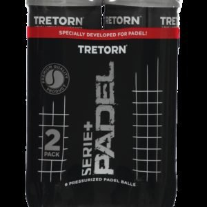 Tretorn Serie+ Padel 3 Tube Padel Pallo 2-Pakkaus