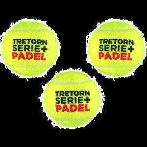 Tretorn Serie+ Padel Padel Pallo 3-Pakkaus