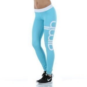 Turquoise Stripe Tights