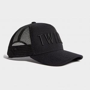 Twinzz Trucker Cap Musta