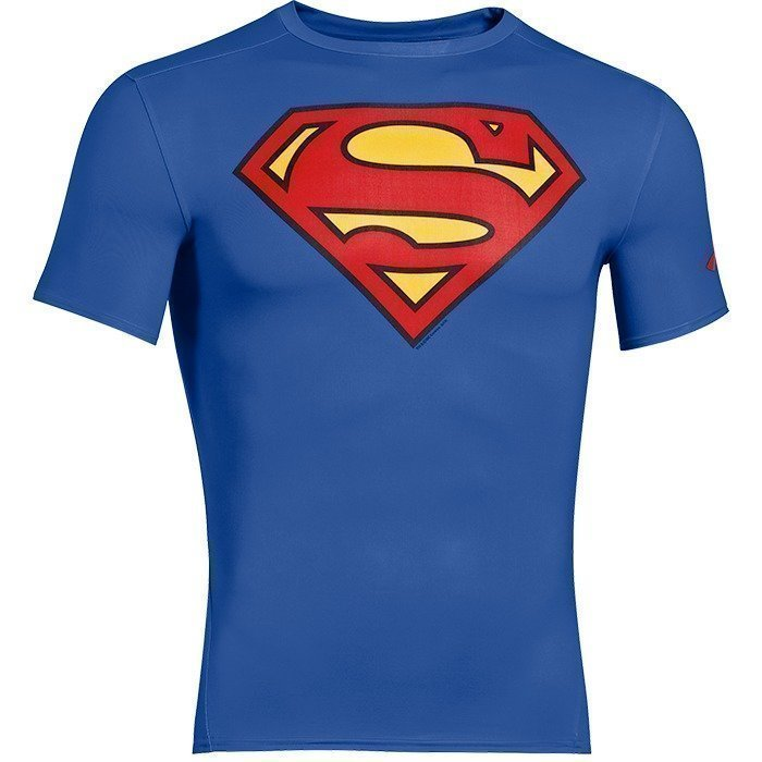 Under Armour Alter Ego Compression Shortsleeve royal/red XXL