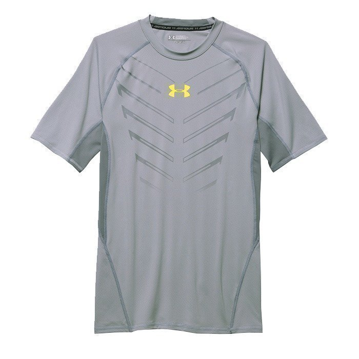 Under Armour Armour HG EXO SS-AMG/SNB amalgam grey L