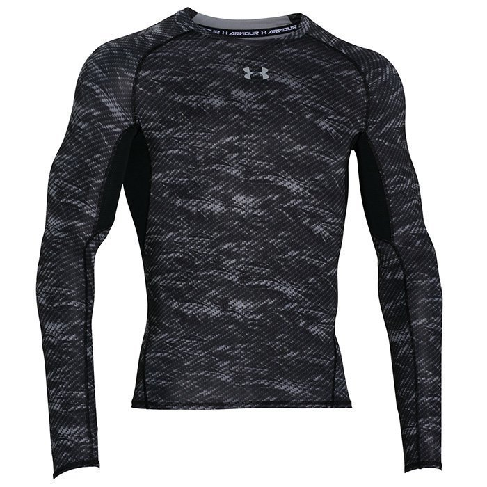 Under Armour Armour HG LS Comp Printed Black