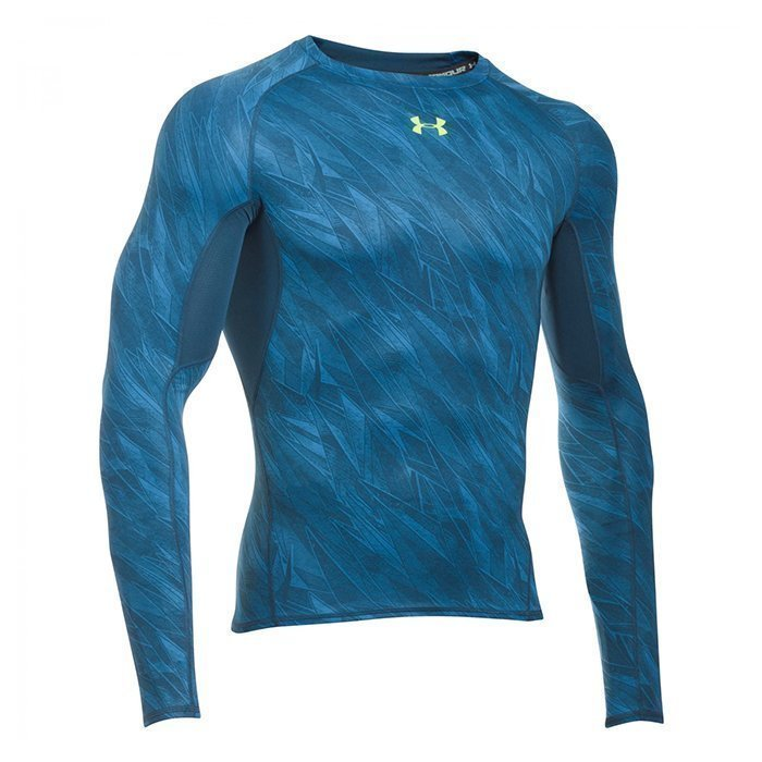 Under Armour Armour HG LS Comp Printed Squadron S
