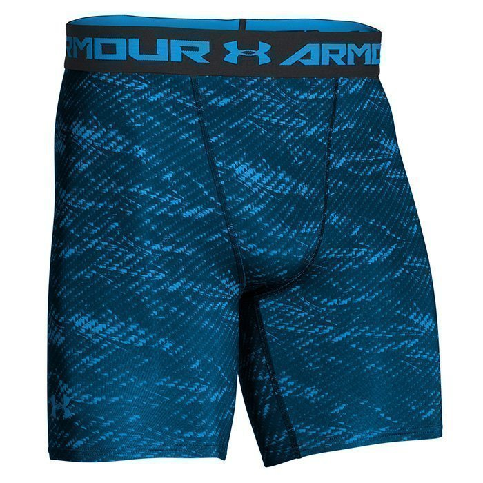 Under Armour Armour HG Printed Comp Short Electric Blue S
