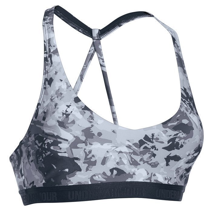 Under Armour Armour Low Bra Printed Black