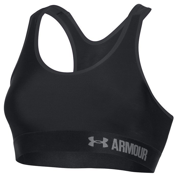 Under Armour Armour Mid Solid Bra Black