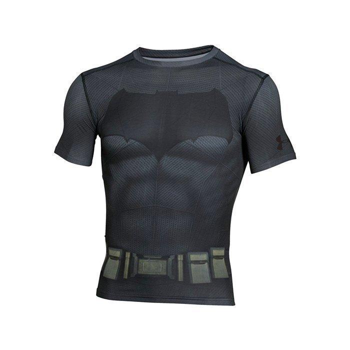 Under Armour Batman Suit Shortsleeve Graphite Large
