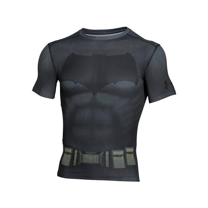 Under Armour Batman Suit Shortsleeve Graphite Medium