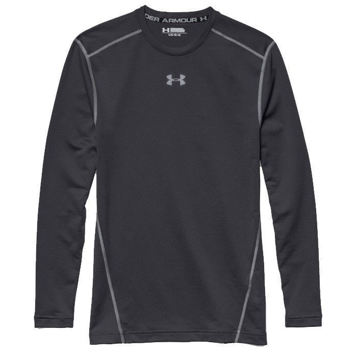 Under Armour CG Armour Crew-BLK/STL black S
