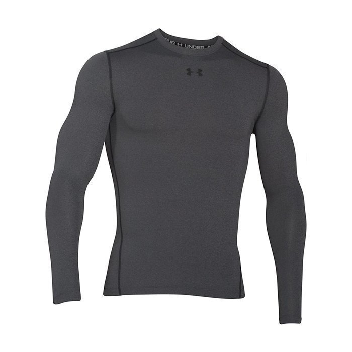Under Armour CG Armour Crew Carbon Heather Small