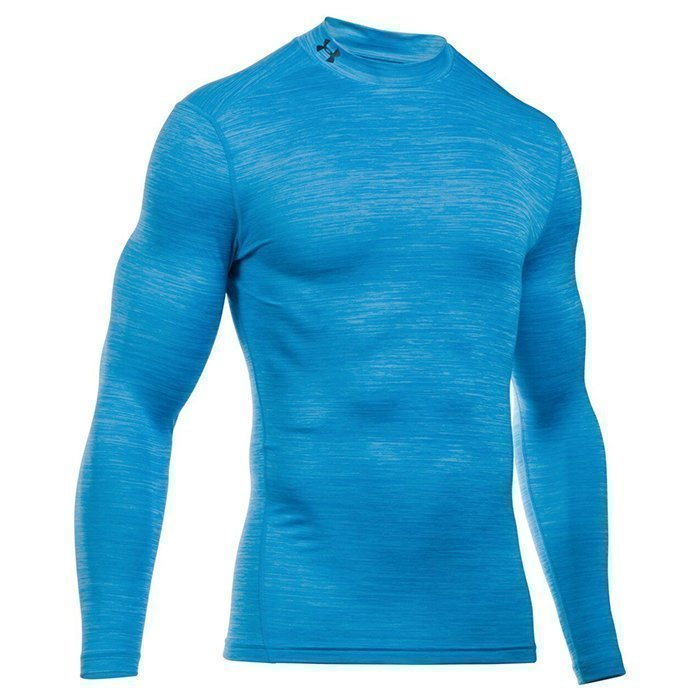 Under Armour CG Armour Twist Mock Peacock Large