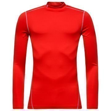 Under Armour ColdGear Compression Mock Punainen