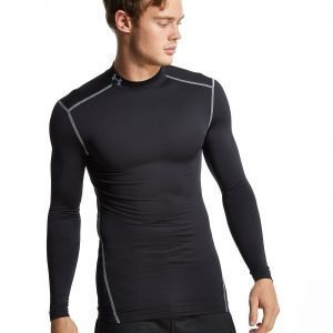 Under Armour Coldgear Armour Compression Mock Longsleeve Musta