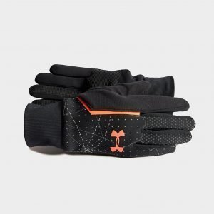 Under Armour Coldgear Etip Hanskat Musta