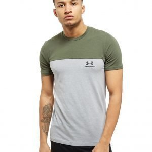 Under Armour Colour Block T-Shirt Vihreä