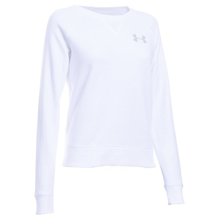 Under Armour Favorite Fleece Crew White X-large