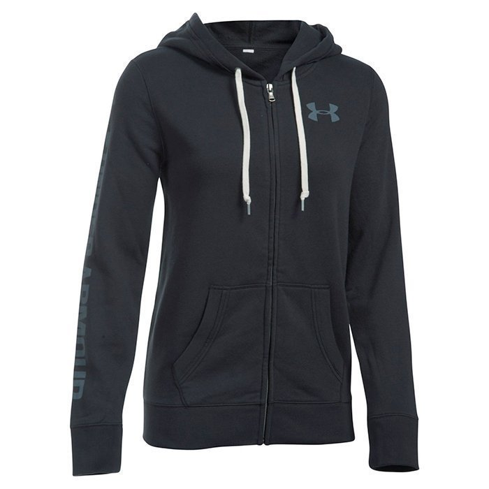 Under Armour Favorite Fleece Full Zip Black Medium