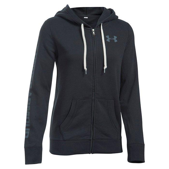 Under Armour Favorite Fleece Full Zip Black Medium