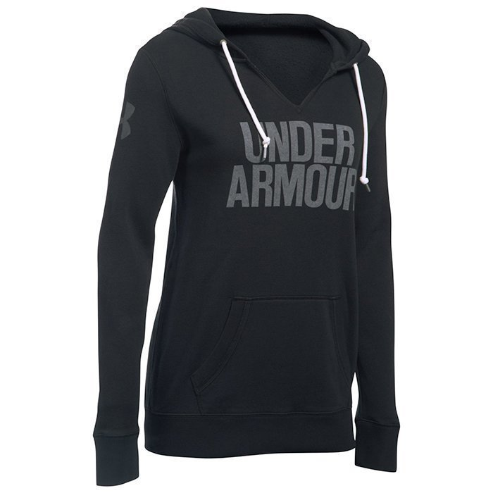 Under Armour Favorite Fleece Popover black X-small