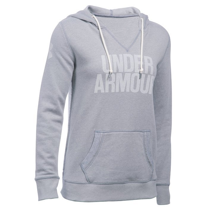 Under Armour Favorite Fleece Popover true grey heather Large