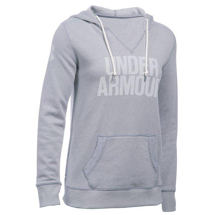 Under Armour Favorite Fleece Popover true grey heather X-small