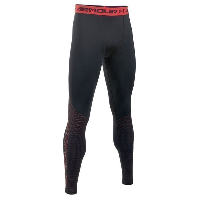 Under Armour HG Armour Graphic Legging Black Small