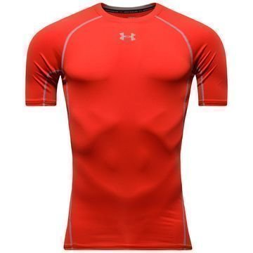 Under Armour HeatGear Armour S/S Punainen