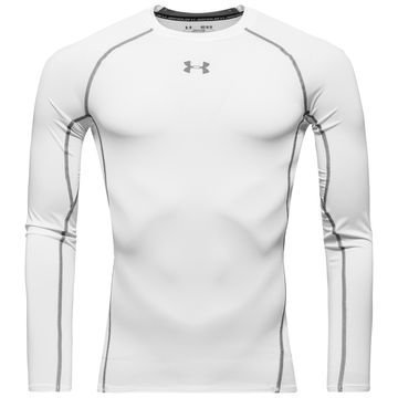 Under Armour HeatGear Compression L/S Valkoinen