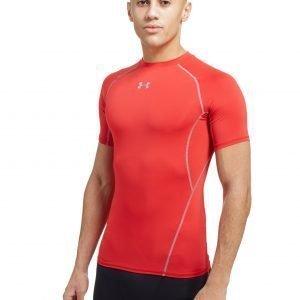 Under Armour Heatgear Compression T-Shirt Punainen