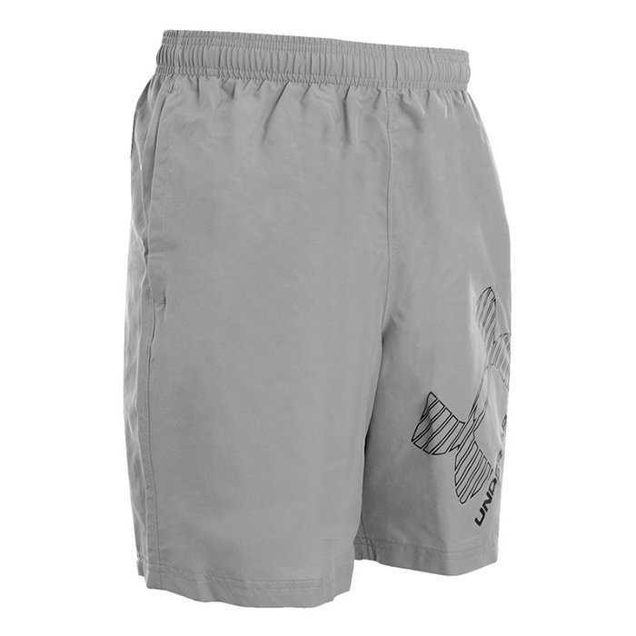 Under Armour INTL Graphic Woven Short Steel Large