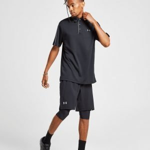 Under Armour Launch 2 In 1 Long Shorts Musta