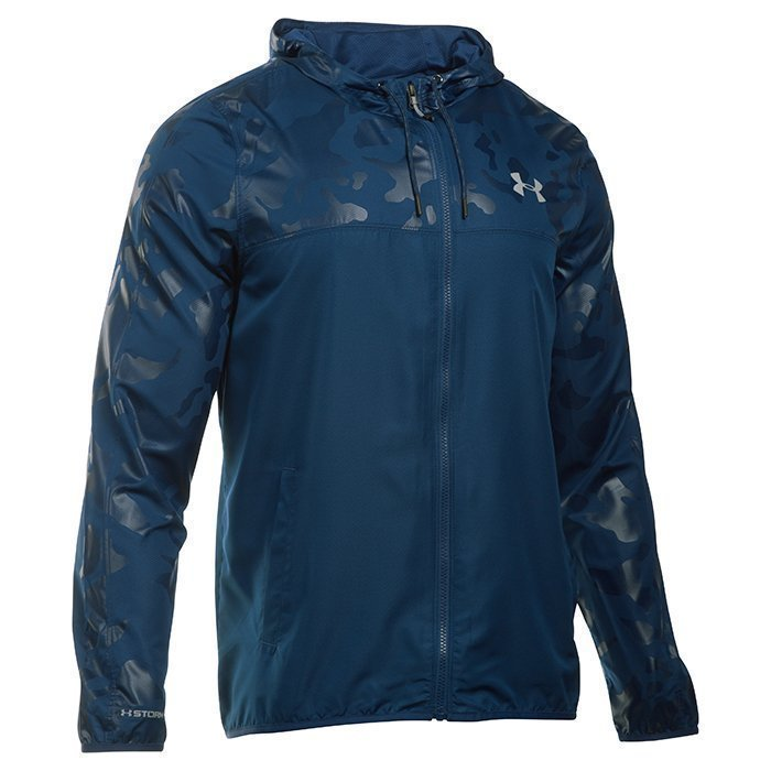 Under Armour Lightweight Windbreaker Blackout Navy XXL