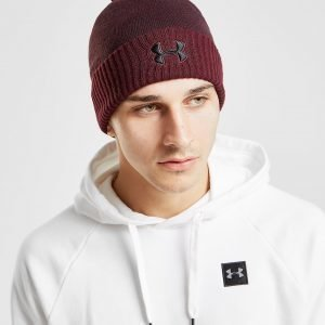 Under Armour Logo Pom Beanie Hat Violetti