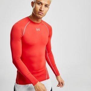 Under Armour Long Sleeve T-Paita Punainen