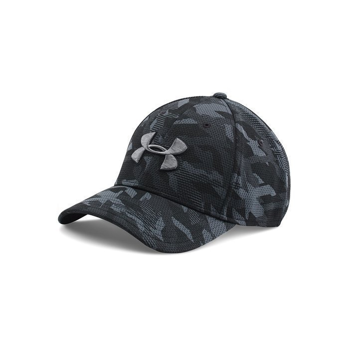Under Armour Men's UA Print Blitzing Cap Black