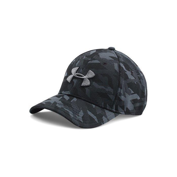 Under Armour Men's UA Print Blitzing Cap Black
