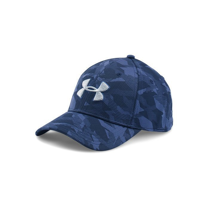 Under Armour Men's UA Print Blitzing Cap Midnight Navy Medium/Large