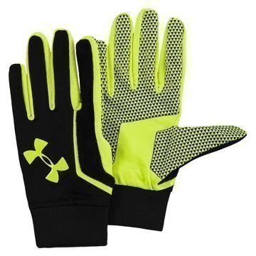 Under Armour Pelihanskat Musta/Neon