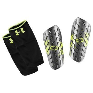 Under Armour Säärisuojat Flex Pro Musta/Neon