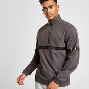 Under Armour Sportstyle 1/2 Zip Woven Track Top Harmaa