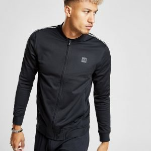 Under Armour Sportstyle Tape Track Top Musta