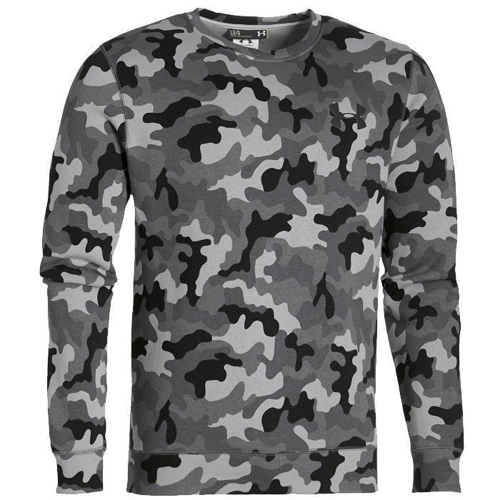 Under Armour Storm Rival Novelty Crew-STL/ steel