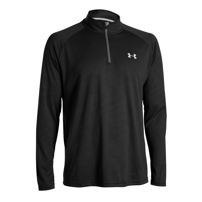 Under Armour Tech 1/4 Zip black M