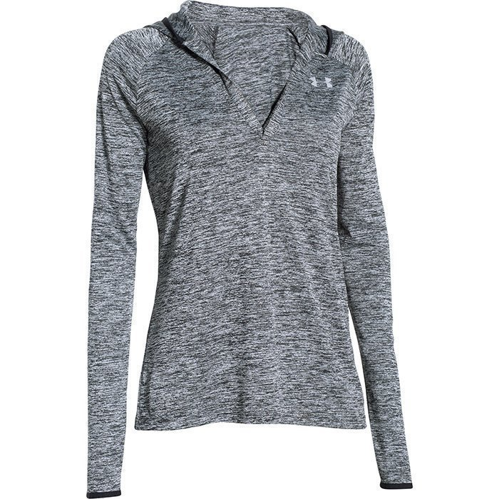 Under Armour Tech LS Hoody Black