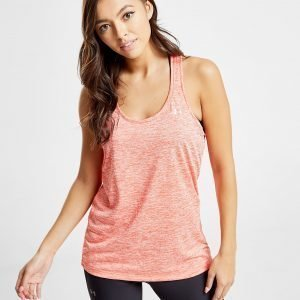 Under Armour Tech Twist Tank Top Coral / Silver