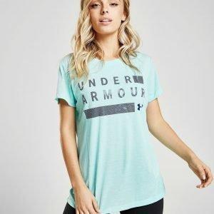 Under Armour Threadborne Twist T-Shirt Sininen